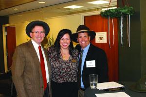 Steve Michalek, Julie Warren and Chris Miller.