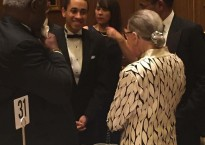 Gurney Pearsall with Justice Ginsburg.