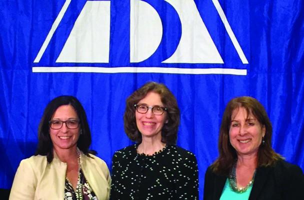 CBA President-Elect Patricia Jarzobski, ABA President-Elect Linda Klein and DBA President-Elect Nancy Cohen.