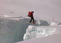 Tumminello on Mount Everest.