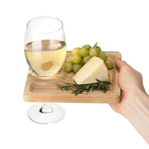 bamboo-plates-with-wine-glass-holder