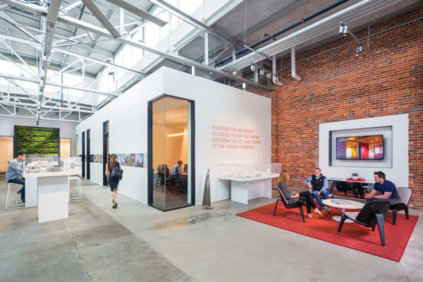 Images: Davis Partnership Architects' new office. Photo credit: Paul Brokering.
